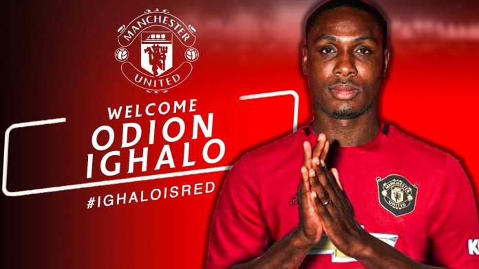 Ighalo is the natural no.9 Man United have lacked