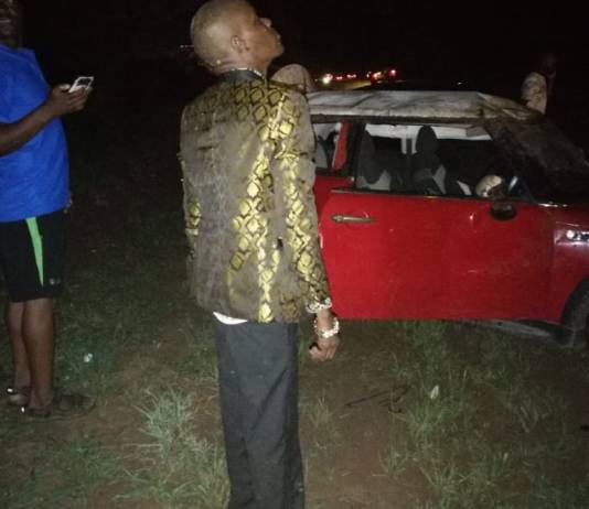 Soul Jah Love Cheats Death After Car Overturns In Nasty Accident