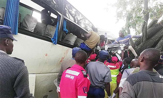 Another Zupco bus in accident