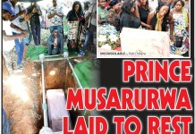 Prince Musarurwa laid to rest