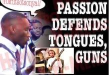 Prophet Passion Defends tongues