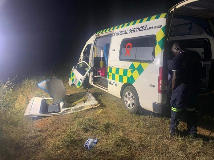 Ambulance Hijacked, Stripped