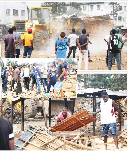 Council Demolishes illegal structures: Full Story