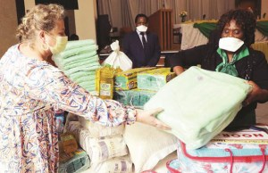 First Lady extends a hand to Mutemwa children's home