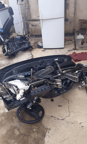 Ford Ranger stolen, stripped in less than 2 hours