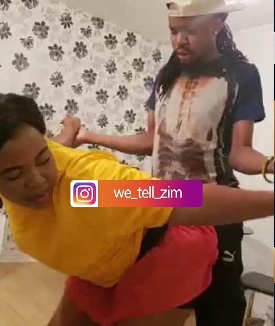 Pictures - Nox Guni's wife in a compromising position with DJ Mandla