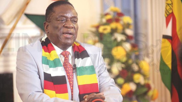 Mnangagwa's message on coronavirus