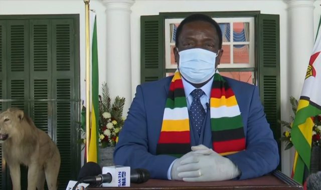Mnangagwa Addresses The Nation, Blames sanctions, cyclones, droughts, COVID19 for economic woes