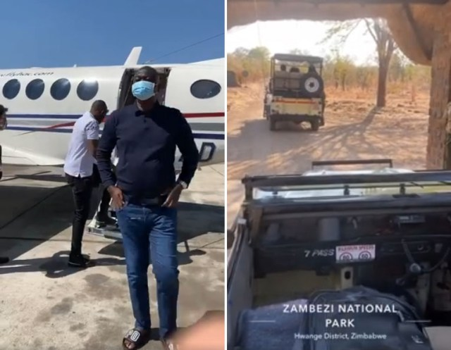Guvamatanga splashes thousands flying family to Vic Falls in private jet after beating covid-19