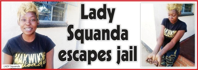 LADY SQUANDA ESCAPES JAIL