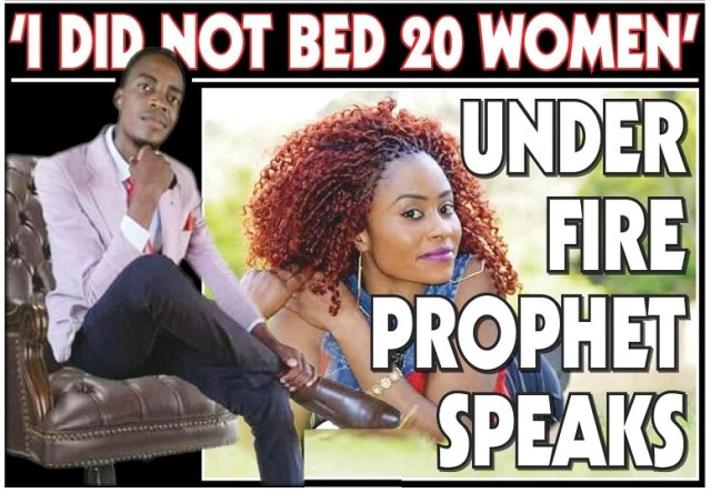 Prophet Who Allegedly Bedded 20 Women Speaks Out!