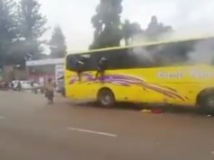 Police brutality reaches new level: Teargas thrown into a loaded bus