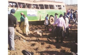 14 Injured In Zupco Bus Accident