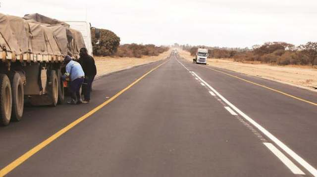 First 100km of Beitbridge road commissioned