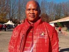 Tributes pour in for NUM General Secretary David Sipunzi