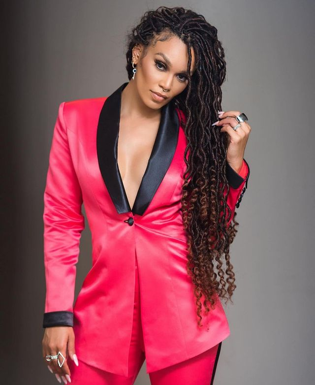 I had to darken my skin to fit in – Pearl Thusi