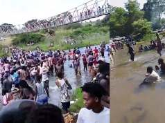 Video: South Africans take swimming to the rivers after closure of beaches