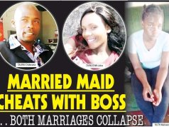 Hubby beds married maid. . . BOTH MARRIAGES COLLAPSE