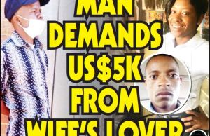 MAN DEMANDS US$5K FROM WIFE'S LOVER