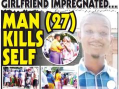 Man Kills Self. . . PARTNER IMPREGNATED BY ANOTHER MAN