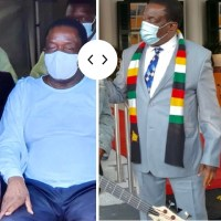 ORIGINAL PICTURES: Mnangagwa's Hands Changing Colour And Swelling At Times