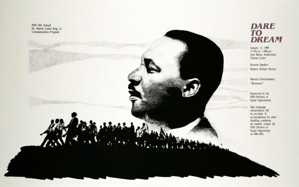 """ Dream Mlk"" Poster - Zimmerman Editions"