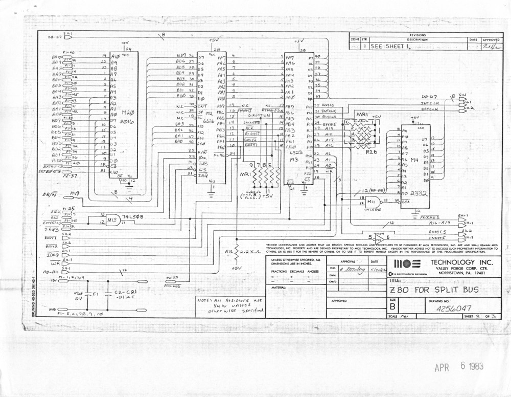 medium resolution of  8088 co processor board for b series machines reverse engineered by ruud baltissen http ruud c64 org 8256043 01of14 left gif cbm ii lp schematic