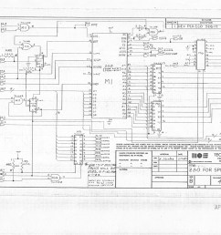 co processor board for b series machines reverse engineered by ruud baltissen http ruud c64 org 8256043 01of14 left gif cbm ii lp schematic p1  [ 6567 x 5081 Pixel ]