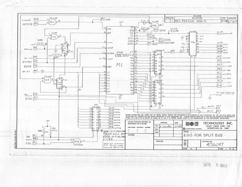small resolution of  co processor board for b series machines reverse engineered by ruud baltissen http ruud c64 org 8256043 01of14 left gif cbm ii lp schematic p1