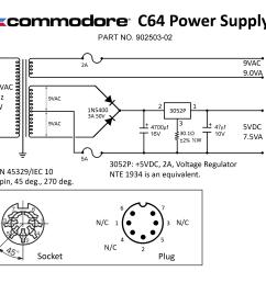 c64 external power supply 902503 02 png 2018 06 22 384569 ps schematic  [ 3000 x 2400 Pixel ]