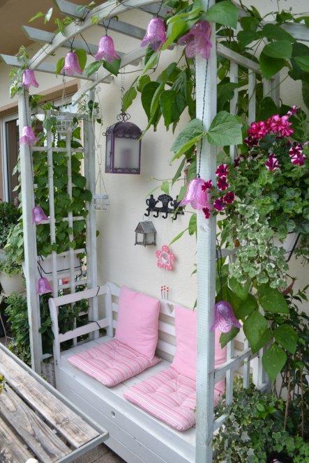 Terrasse  Balkon Balkon sicklysweet  flowery
