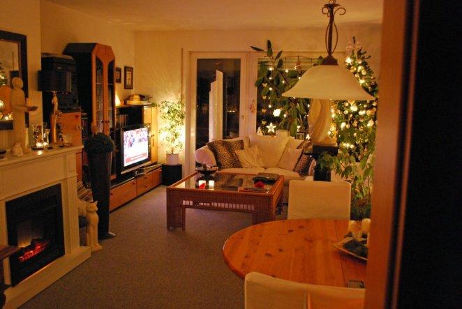 Weihnachtsdeko WeihnachtsWohnzimmer  Jezabels Domizil  Zimmerschau