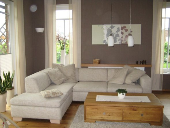 Wohnzimmer Wohn und Esszimmer  Unser Heim  Zimmerschau