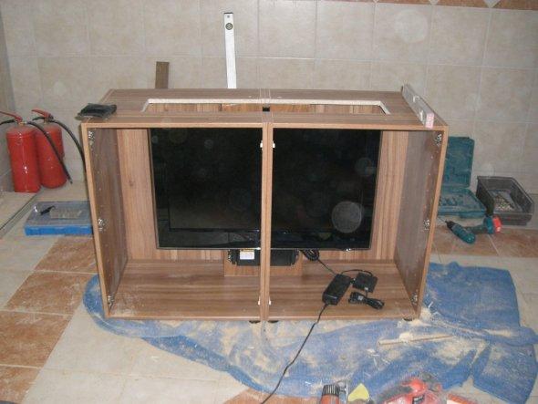 Tipp von hofiprofi Versenkbarer Fernseher im Eigenbau