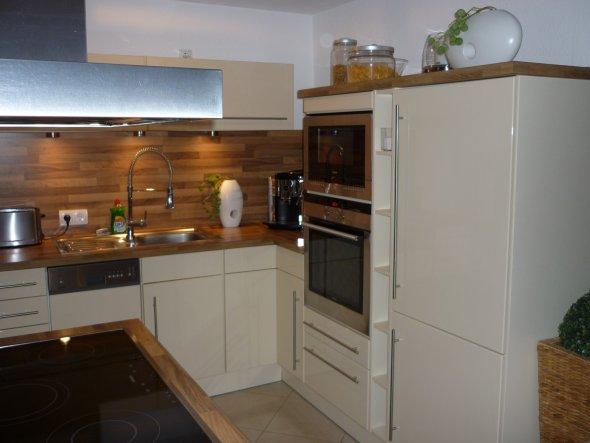 offene kuche esszimmer wohnzimmer l - cuisinebois