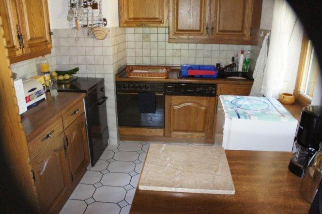 Kche Wir haben dieses Haus im Sommer 2011 gekauft und