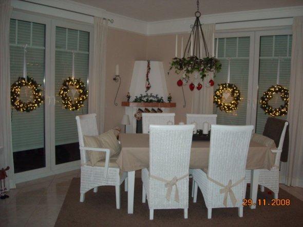 Weihnachtsdeko Weihnachten 2008  Home sweet Home