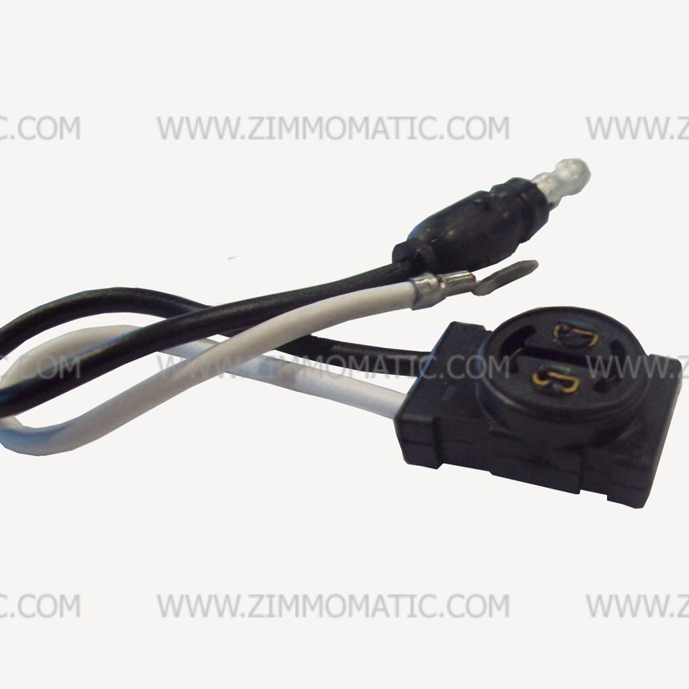 medium resolution of pigtail 2 wire flat led plug