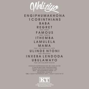 Nhliziyo Tracklist