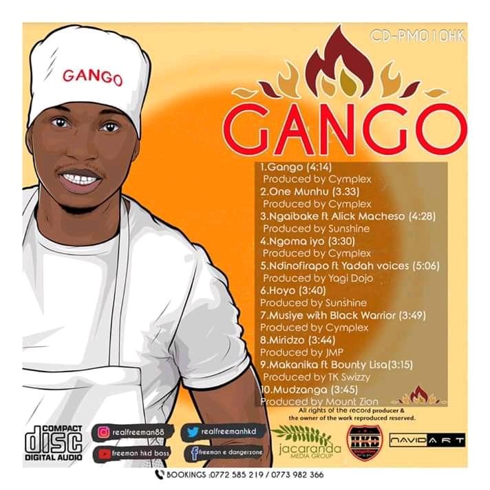Freeman - Gango Tracklist