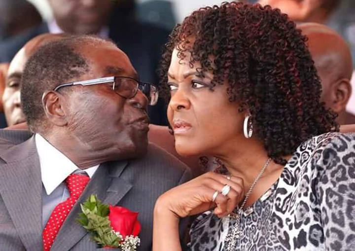 Mugabe, Grace in soup for grabbing, cannibalizing delivery truck