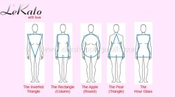 Women Body Shapes – Inverted Triangle