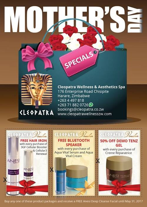 Mothers Day Cleopatra ZimShoppingMalls