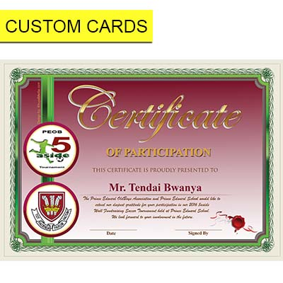 custom cards zimbabwe zim shoppingmalls