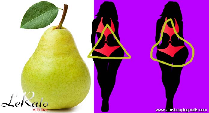 Body Shape - The Pear Triangle lerato zimshoppingmalls
