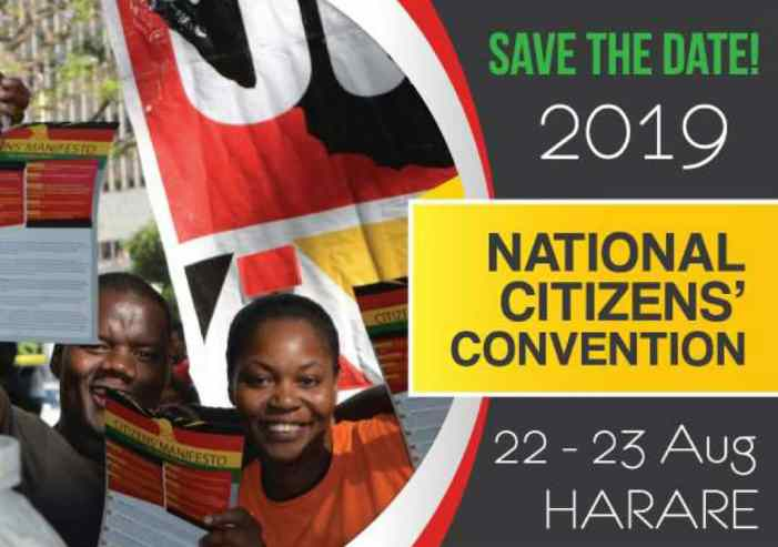Zimbabweans to hold National Citizen Convention – UPDATED