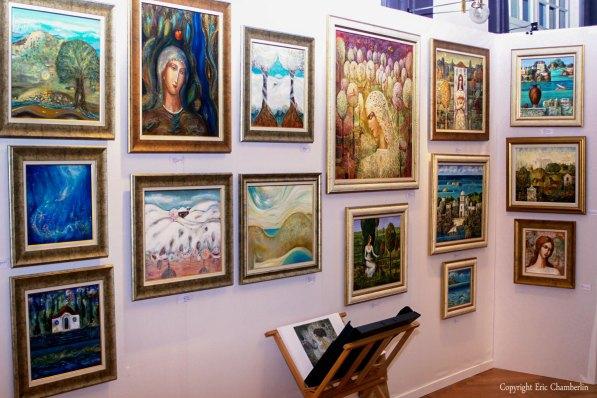 international contemporary art exhibition – Zina Bercovici