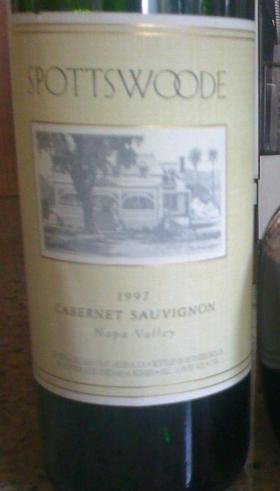 1997 Spotteswood Cabernet