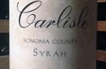 2008 Carlisle Sonoma Valley Syrah