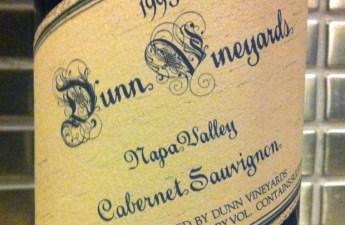 1995 Dunn Cabernet Sauvignon